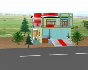 Indian home map design