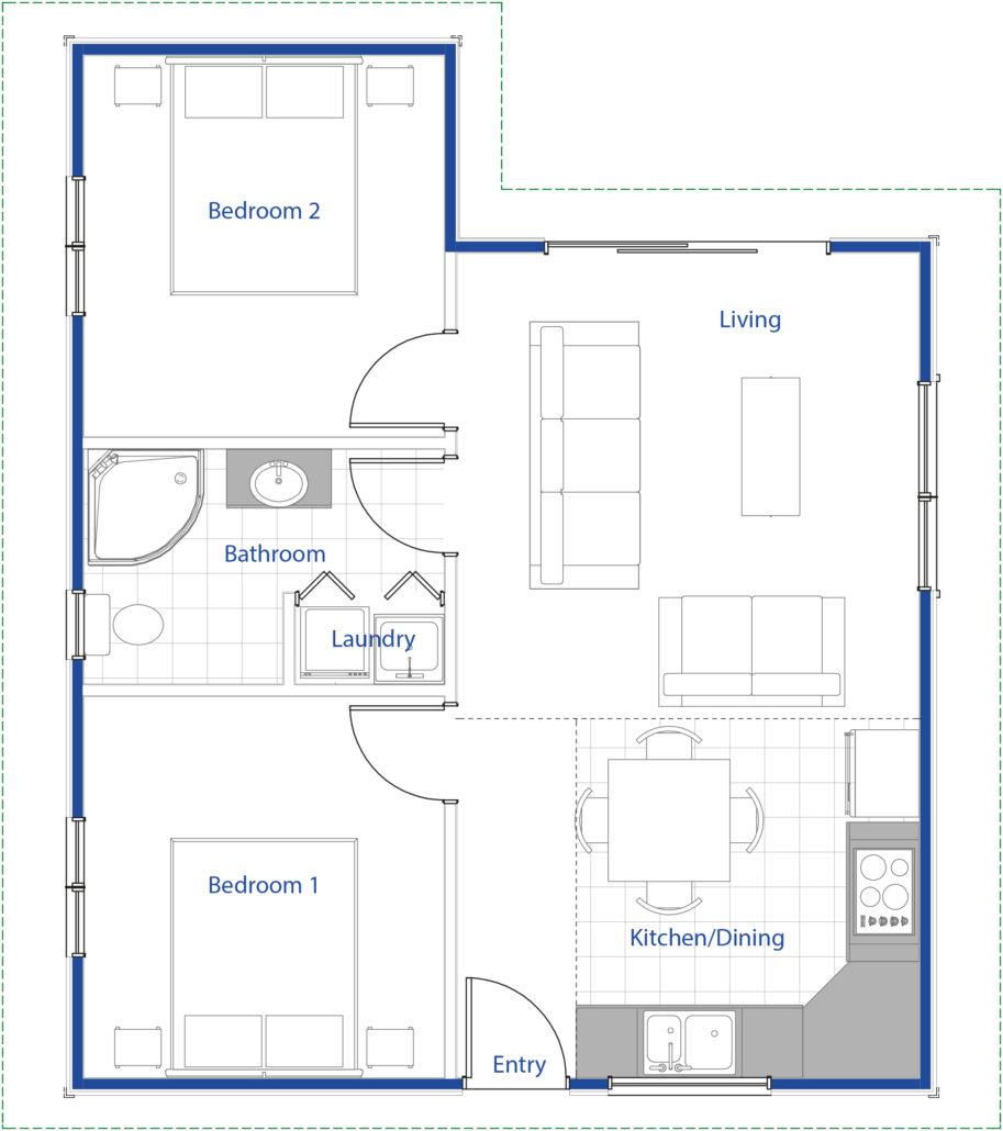 small house design ideas floor plans