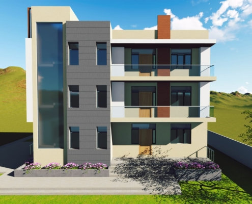 Home Elevation design in india